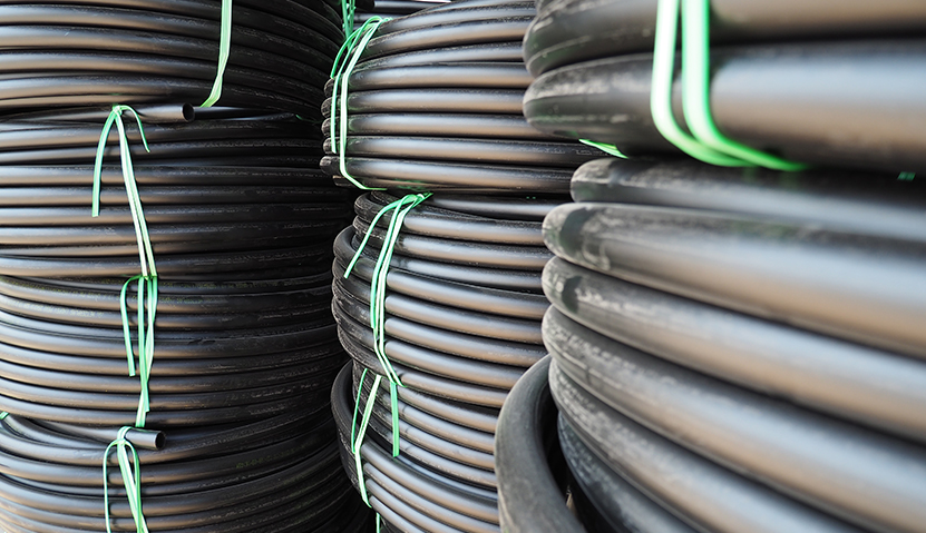 Metzer HDPE pipes for water