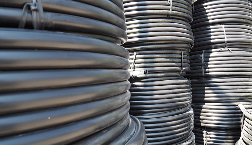 Metzer LDPE pipes for water and irrigation