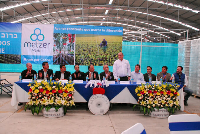 Mezter officially launched a new production plant, operated by Metzer's young Mexican subsidiary