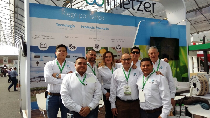 Metzer's booth was manned and operated, for the third consecutive year, by Metzer Mexico's energetic and motivated marketing and sales team,